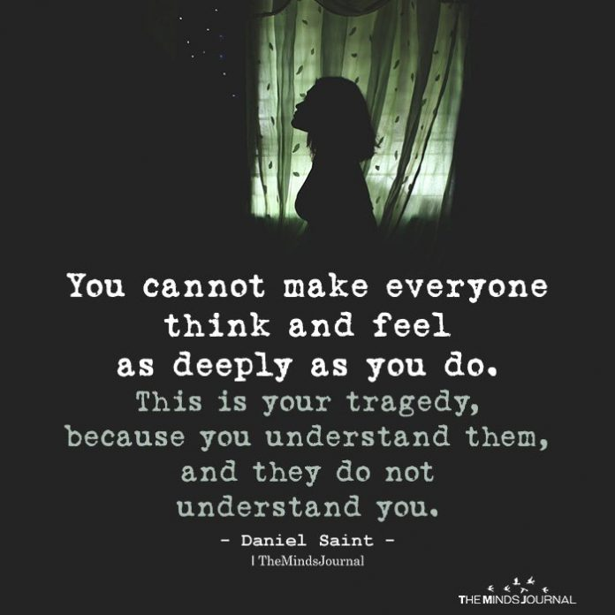 You cannot make everyone think