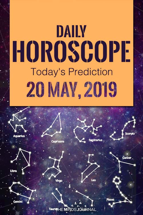 Your Daily Predictions for Monday 20 May 2019