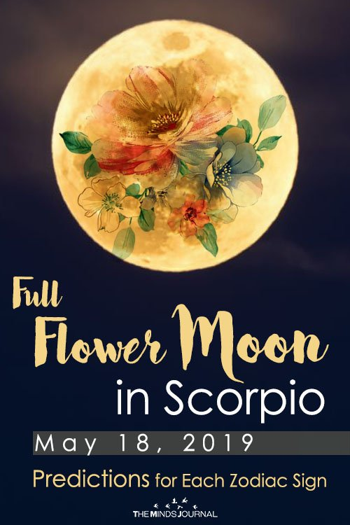 Your Predictions for the Full Moon in Scorpio – 18 May 2019