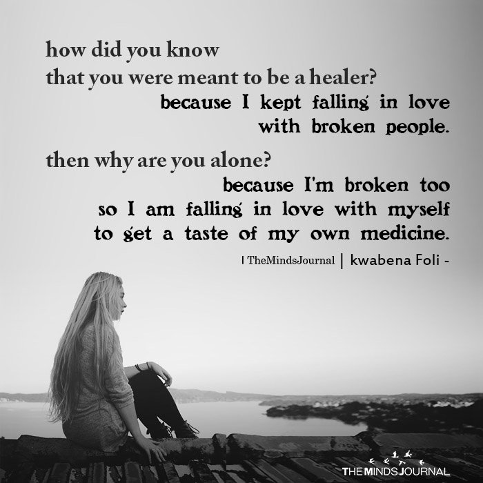 how did you know that you were meant to be a healer
