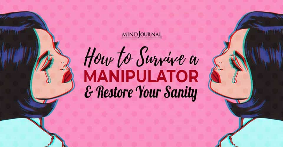 how to survive a manipulator and restore your sanity