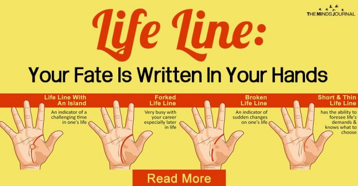 life line you life is written in your hands