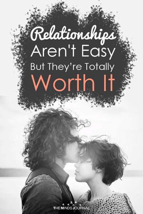 relationship arent easy pin