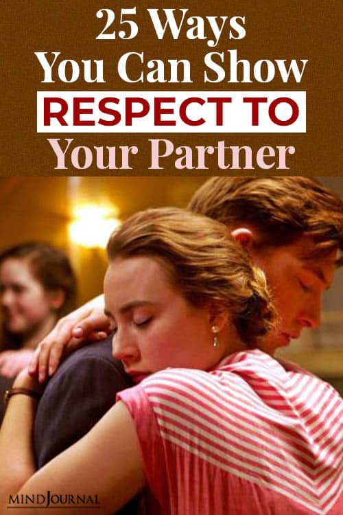 show respect to partner pin