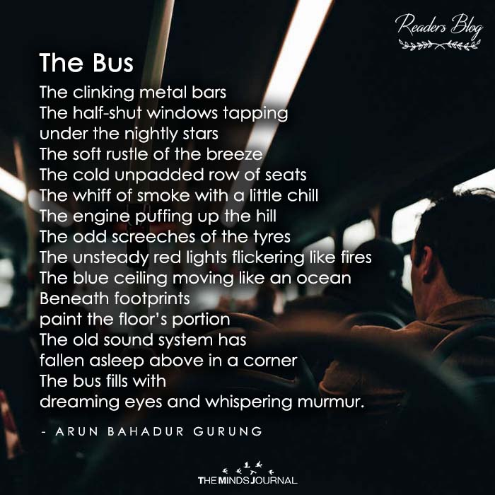 the bus