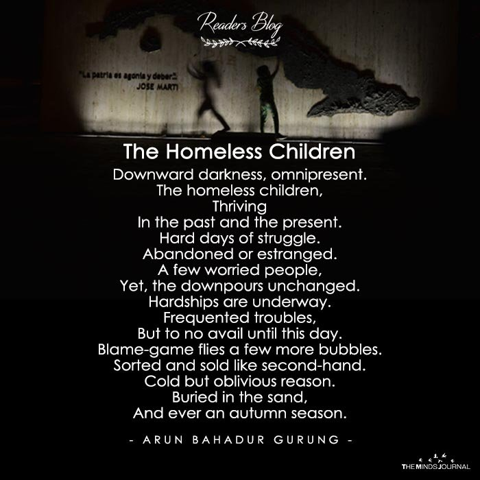 The homeless children
