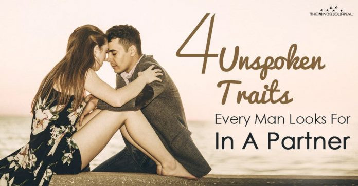 traits men look for in a partner
