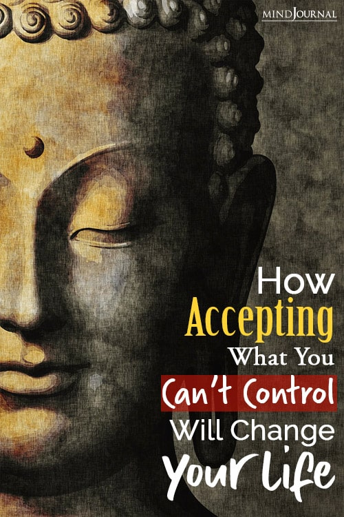 what you cant control will change your life pin