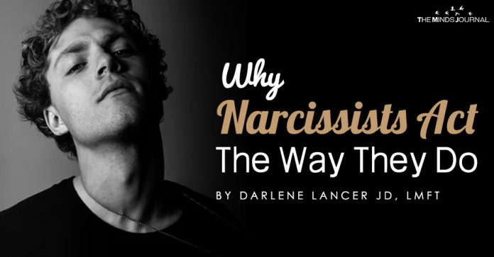 why narcissist do as they do