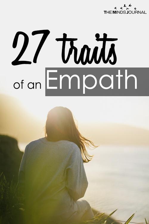 27 traits of an empath pin