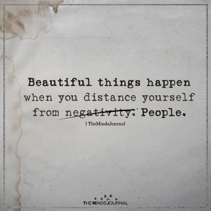 Beautiful things happen