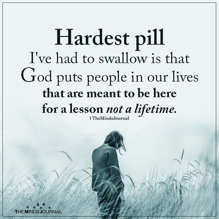 Hardest pill I've had to swallow