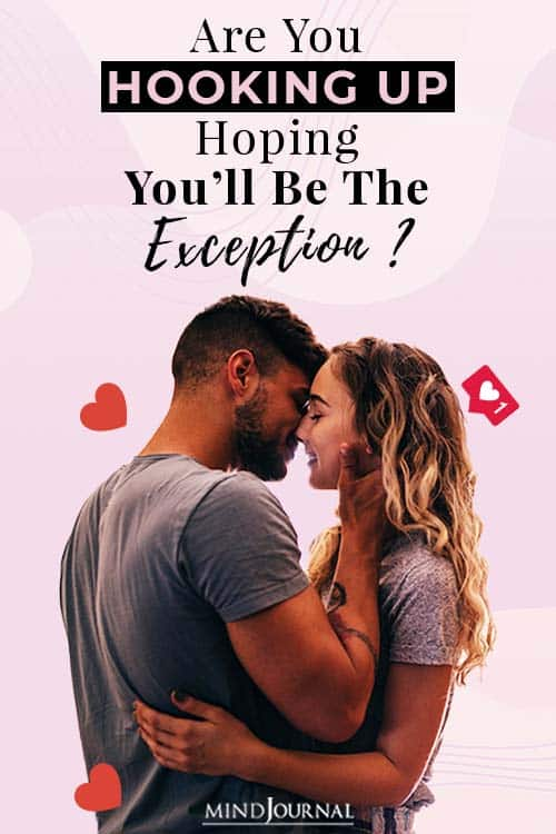 Hooking Up Be the Exception pin