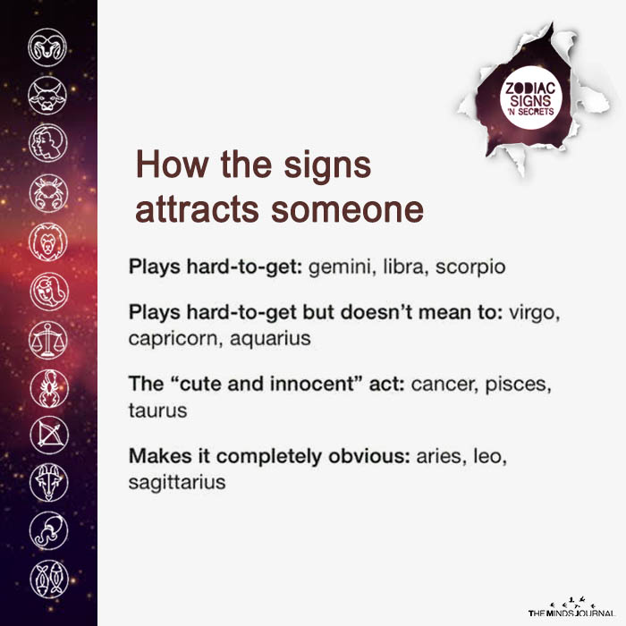 How The Signs Attract Someone