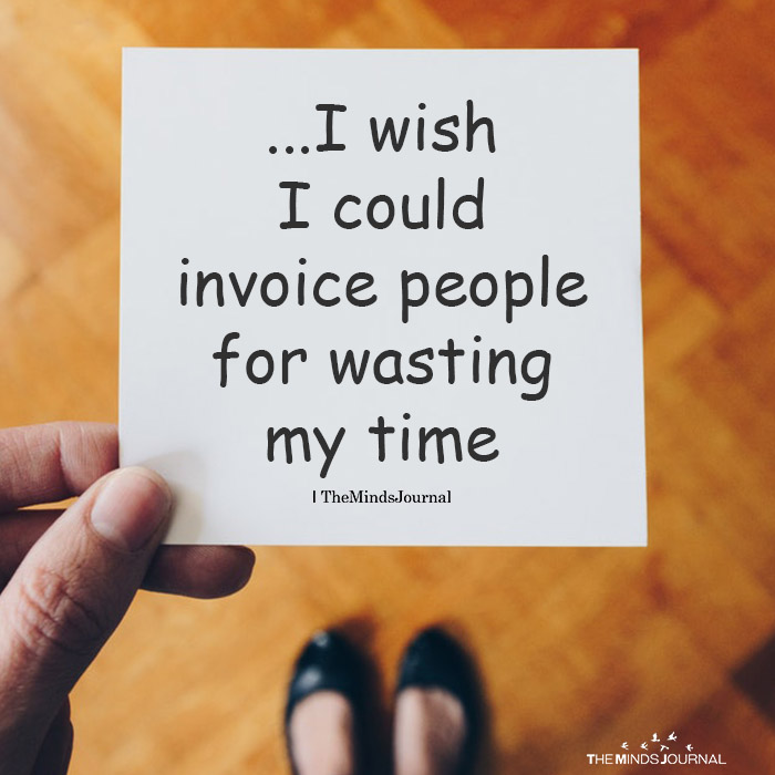 I wish I could invoice people
