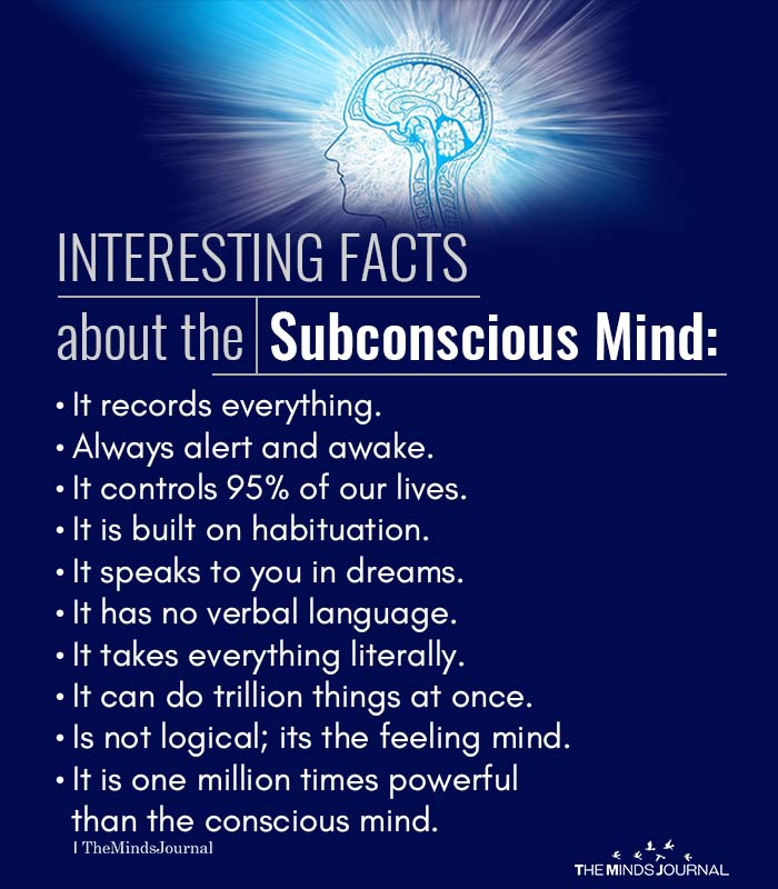 Interesting Facts About The Subconscious Mind