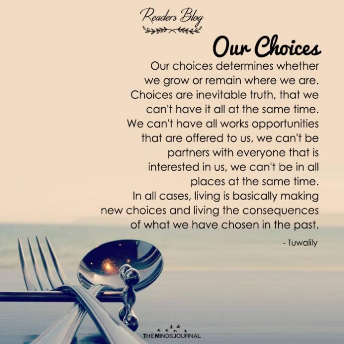 Our Choices