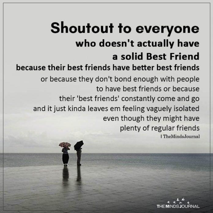 Shoutout to everyone