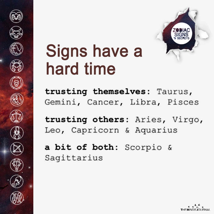 Signs Have A Hard Time