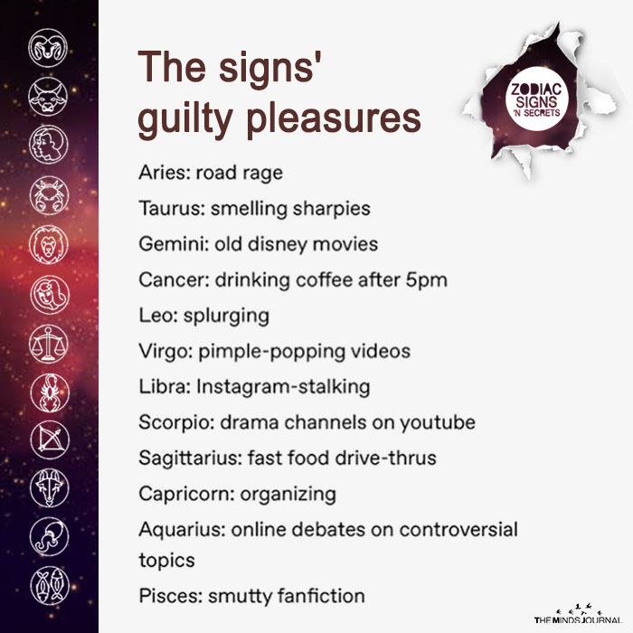 The Signs' Guilty Pleasures