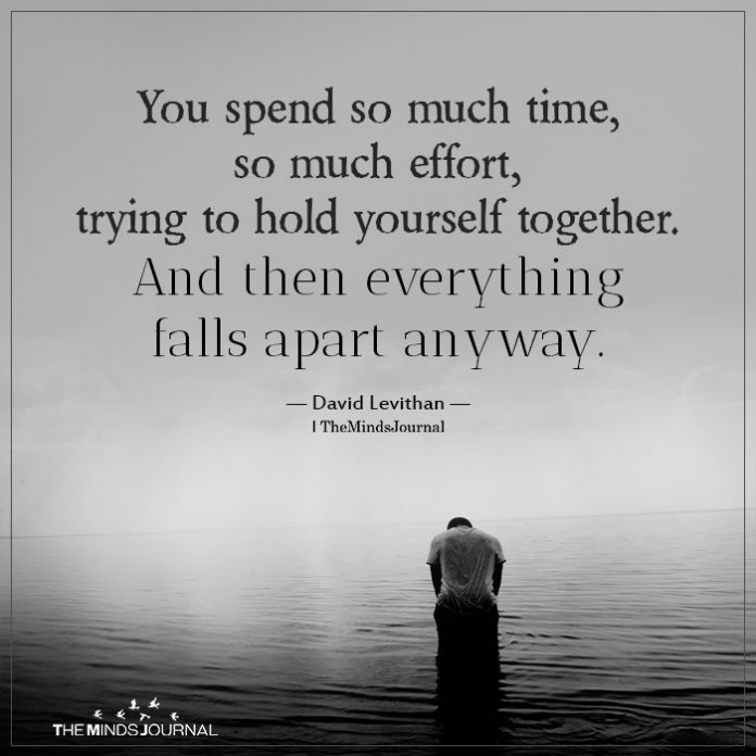 You spend so much time