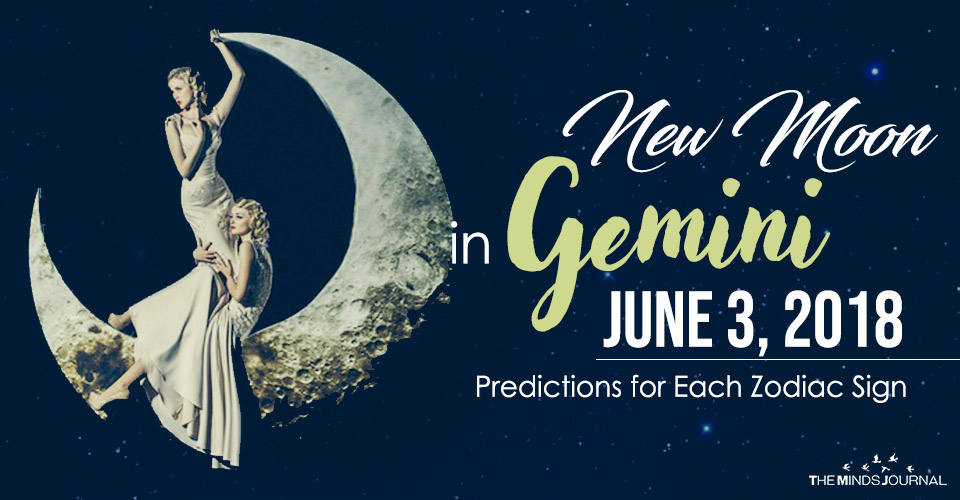 Your Predictions for the New Moon in Gemini 03 June