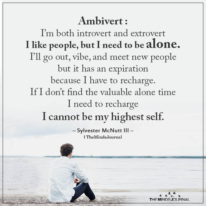 Ambivert: I'm Both Introvert And Extrovert