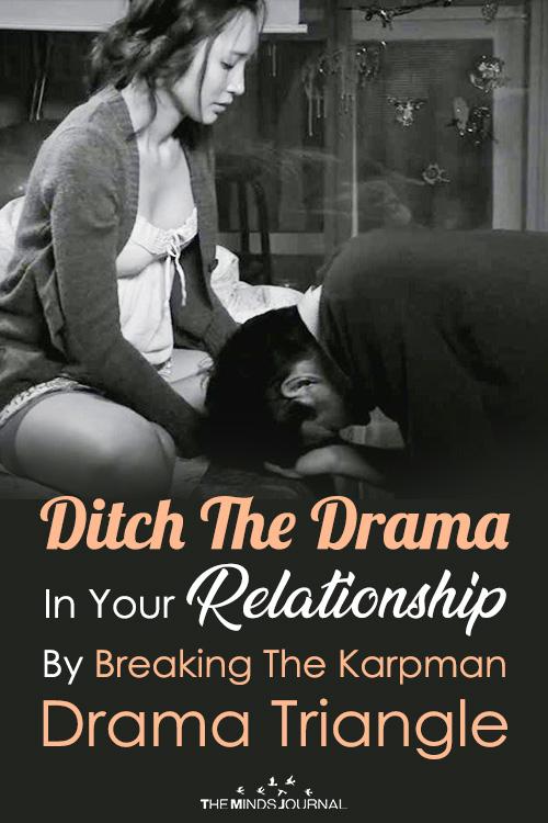 ditch the karpman drama triangle pin