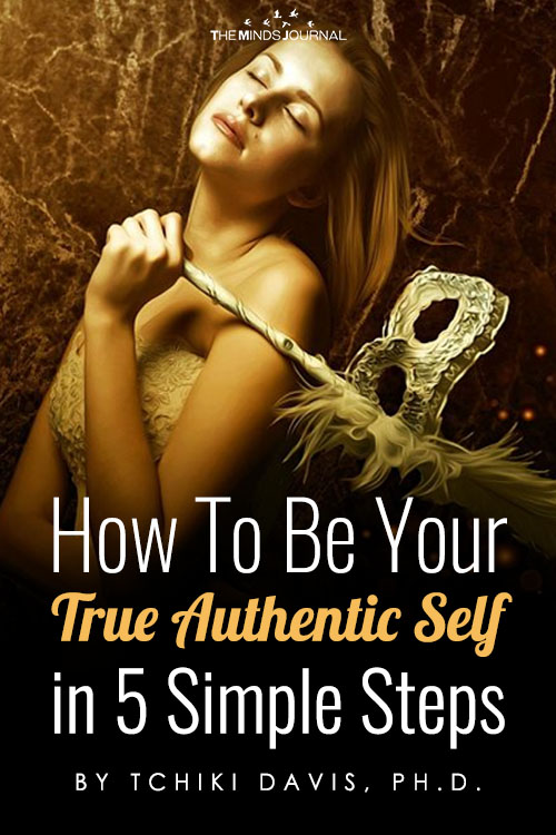 how to be your true authentic self pin