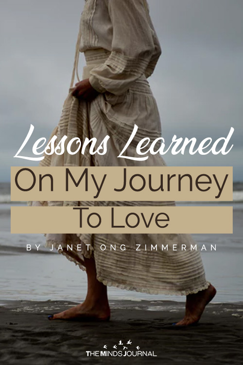 lessons i learned on my journey to love pin