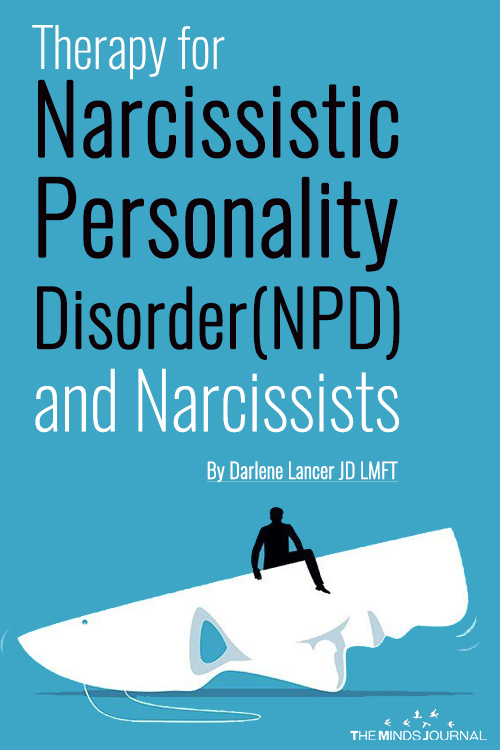therapy for npd and narcissists pin