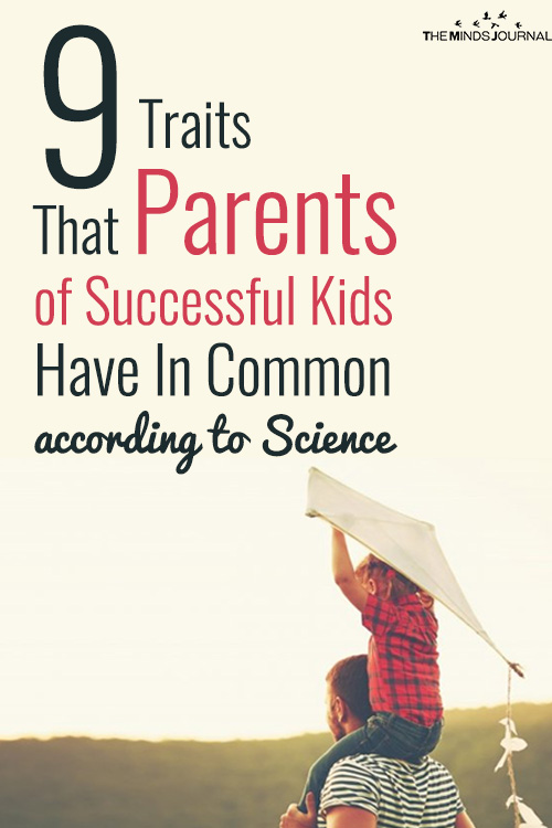traits Parents of Successful Kids Have In Common