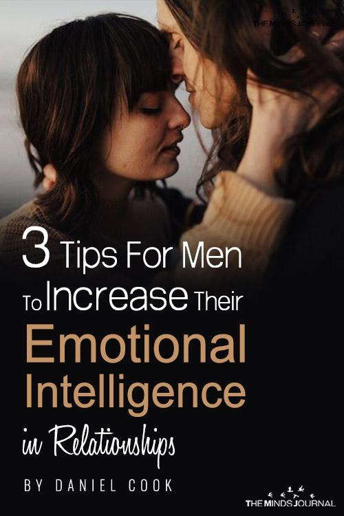 3 tips fro men to increase emotional intelligence pin