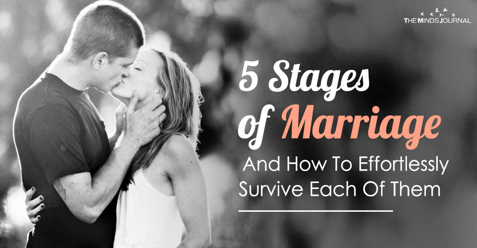 5 stages of marriage and how to effortlessly deal with each of these