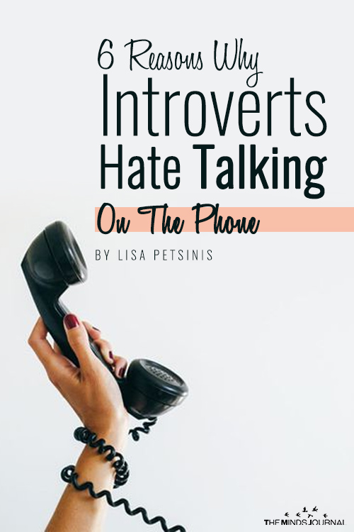 6 Reasons Why Introverts Absolutely Hate Talking On The Phone