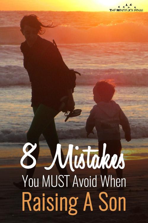 Avoid When Raising Son pinterest
