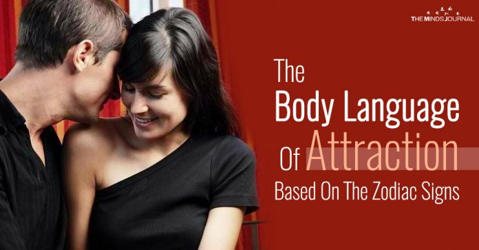 The Body Language Of Attraction of Each Zodiac Sign