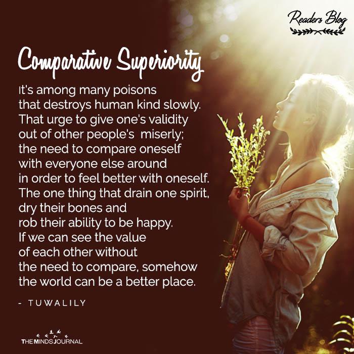 COMPARATIVE SUPERIORITY