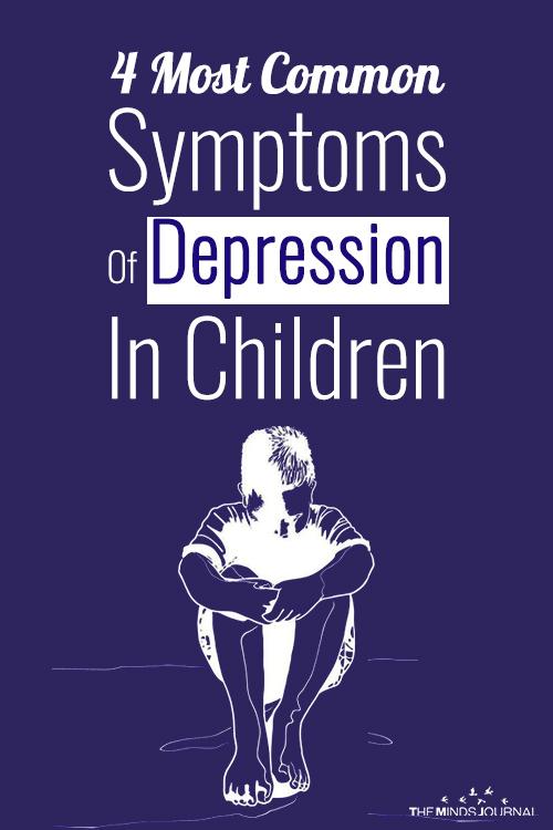 Common Symptoms Of Depression In Children pinterest