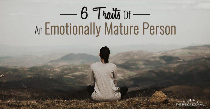 Emotionally Mature Person