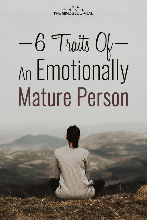 Emotionally Mature Person pinterest