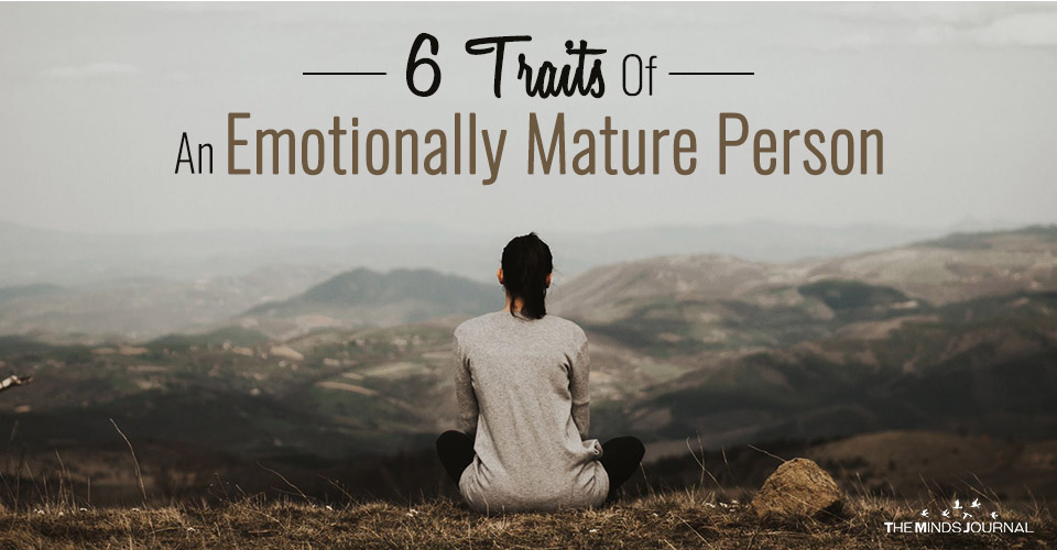 Emotionally Mature Person