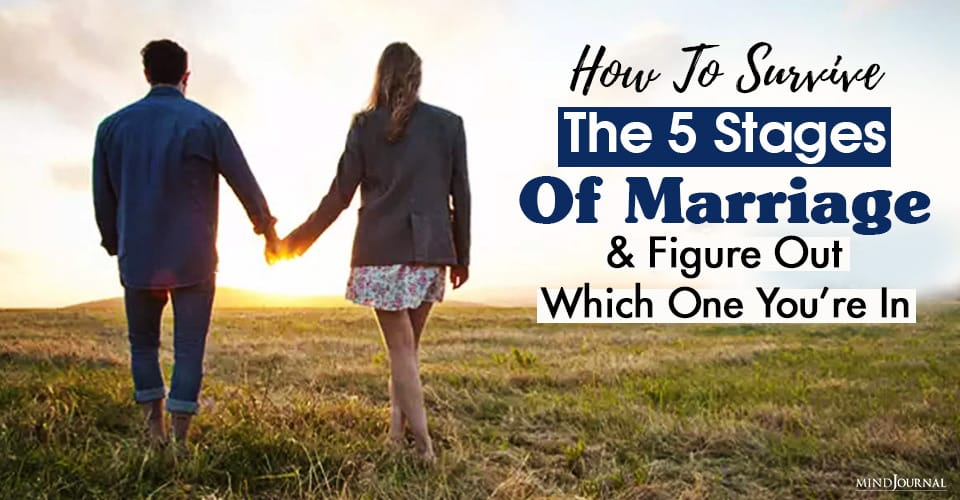 how to survive all stages of marriage and figure out which one you're in