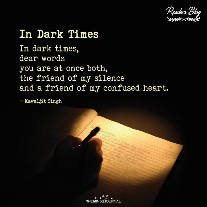 In Dark Times