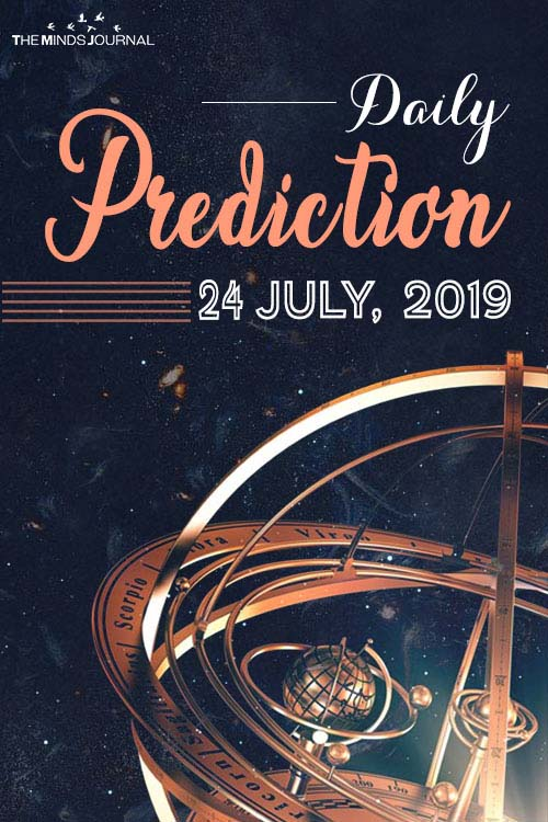 Predictions for Wednesday 24 July 2019