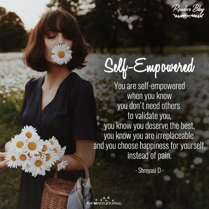 Self-Empowered