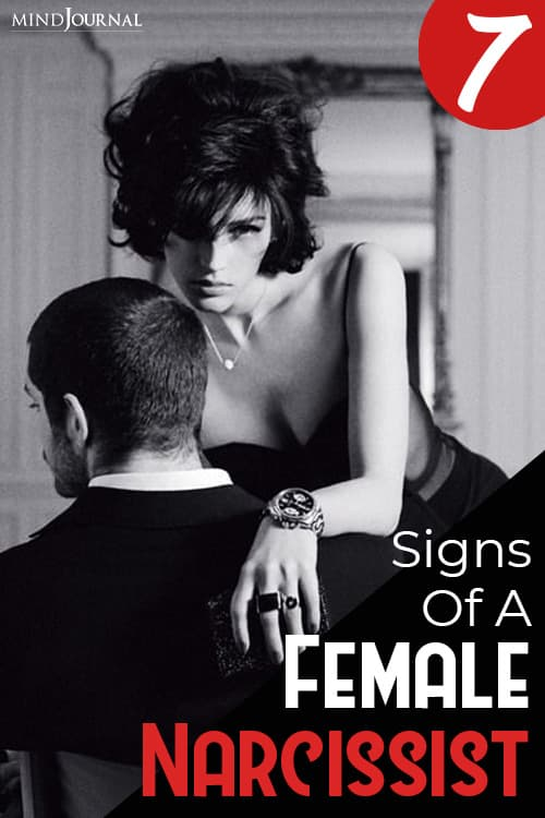 Signs Female Narcissist