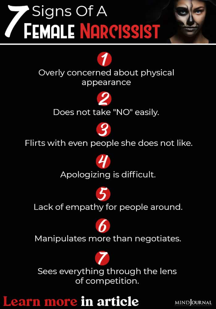 Signs of Female Narcissist info