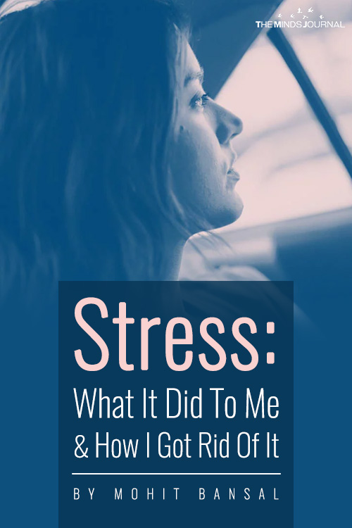 Stress What It Did To Me pinterest