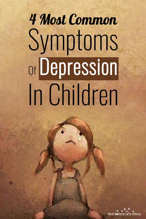 Symptoms Of Depression In Children pinterest